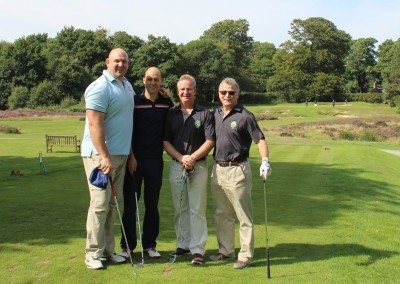 Craig Quinnell, David Quike, Mike Brown & Julian Roberts
