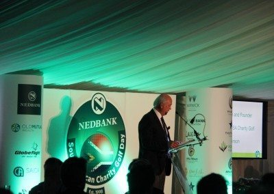 Geoff Johnson Founder & Director of the Nedbank SA Charity Golf Day