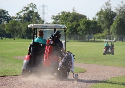 Getting a golfer on time to his Tee