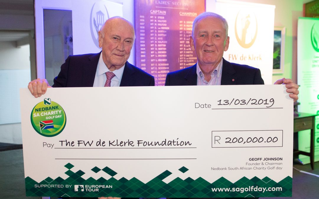 What we've achieved through the FW de Klerk Foundation